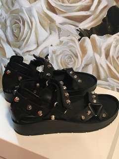 Balenciaga Studded Sandals Size 38 Au 7.5