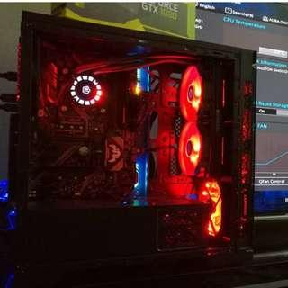 gaming pc 8th gen coffee lake i5 8400 turbo boost up to 4.00mhz & gtx 1050ti (like new)
