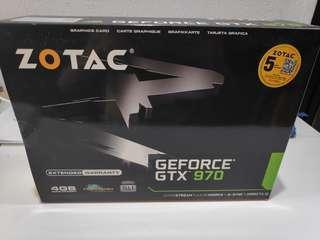 Zotac gtx 970 4GDDR5 gaming GPU gtx970 4gb
