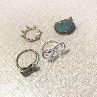 Rings set 戒指 全套