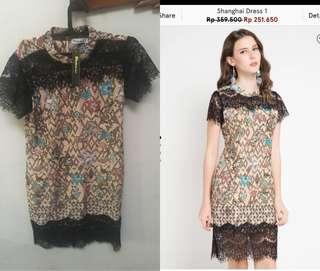 Dress Bharata Batik Shanghai