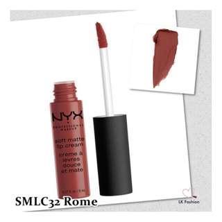🚚 💕 Instock 💕 NYX Soft Matte Lip Cream 💋 SMLC32 Rome 💋