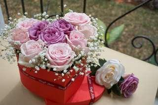 Sweet Heart flower box