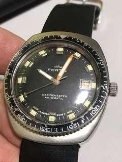Vintage Fortis Marine master automatic diver watch