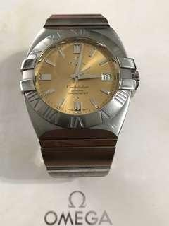 Omega Constellation Double Eagle Co-axial auto watch