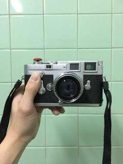 Leica M3 with 50mm Summitar