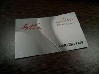 TGV Advertiser Pass