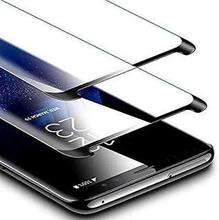 [E599] ESR Samsung Galaxy S9 Plus S9+ Screen Protector, (2-Pack) Galaxy S9 Plus Tempered Glass Screen Protector [Force Resistant up to 11 pounds] Case Friendly for Samsung Galaxy S9 Plus 2018 Released