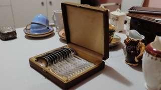 法國復古銀匙套裝 French Vintage Spoon Set