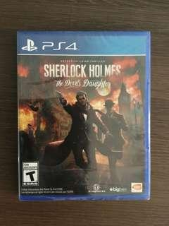 PS4 Sherlock Holmes the devil's Daughter
