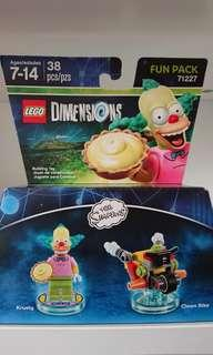 Lego simpson fun pack krusty