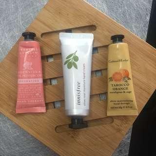 Various Hand Cream