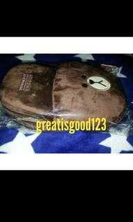 WTS MISSHA OFFICIAL X LINE Brown Slippers