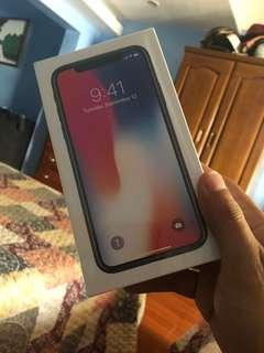 Iphone X FU Ntc Brandnew Sealed