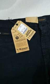 Obral jeans hitam uk 33-34