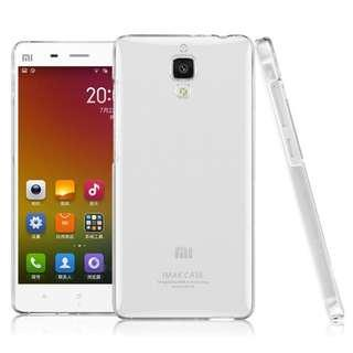 (NEW) XiaoMi Mi4 - IMAK Super Frosted Transparent Back Cover