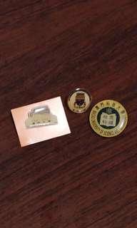 澳門大學及澳門科技大學紀念襟章