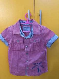 Gingersnaps Boys Polo shirt size2
