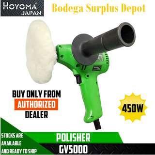 Hoyoma Polisher 450W GV5000 🔥100% Original🔥 Heavyduty 220volt japan Made