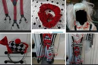 萬聖節服飾包頭飾襪 cosplay festival clothing halloween