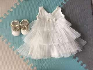 Christening / Baptism Gown for baby girl