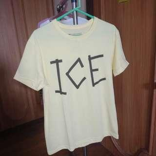 Yellow ICE CREAM shirt