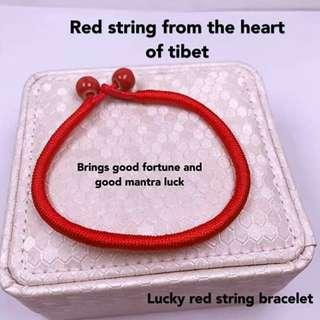 Lucky Red String Bracelet