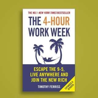 (PREORDER) The 4-Hour Work Week Escape the 9-5, Live Anywhere and Join the New Rich
