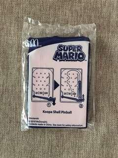 MCD McDonald's Happy Meal Toy - Nintendo Super Mario Koopa Shell Pinball