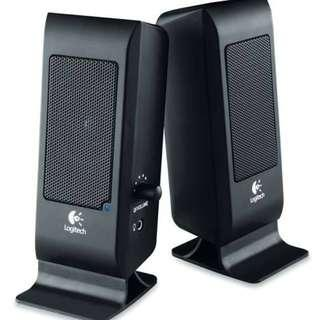 Like new! Logitech S-100 Speakers