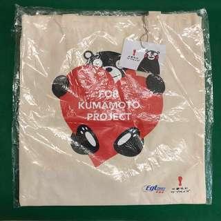 熊本熊Tote Bag Kumamon布袋