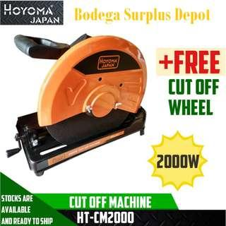 Hoyoma Cut Off Machine 2000W HT-CM2000  Heavyduty JAPAN MADE