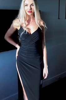 Gemeli Power Dress/Formal/Prom (In BLACK, BNWT)