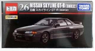 Tomica NISSAN SKYLINE GT-R(BNR32)