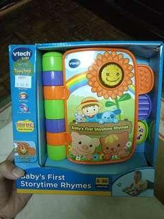 [NEW] VTECH BABY'S FIRST STORYTIME RHYMES
