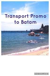 Transport to batam