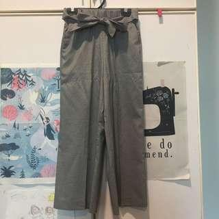 The Editor's Market Houndstooth Culotte Pants