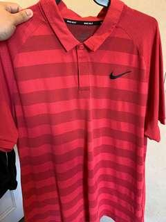 Nike Golf Zonal Cooling Polo in Tropical Pink, Size L