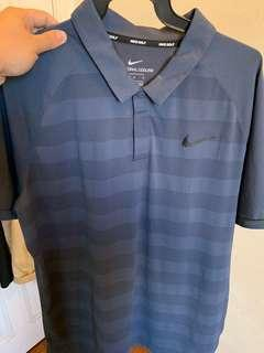 Nike Golf Zonal Cooling Polo in Armory Navy Size L