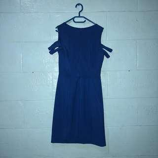 Royal Blue Jellybean Dress