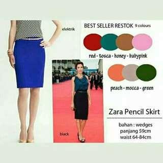 Zara pencil skirts