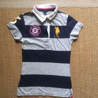 US Polo Collared Top
