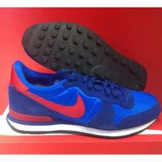 Nike Internationalist Blue Red Cakep