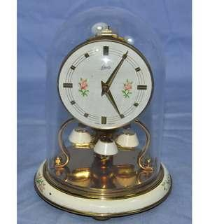 ANTIQUE VINTAGE SCHATZ GERMANY MECHANICAL ANNIVERSARY CLOCK