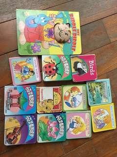 Baby hard cover small books - preschool