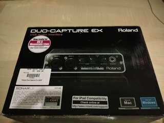 Roland duo capture Ex