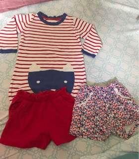 mothercare set for 9-12months