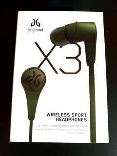 Jaybird X3 New Alpha Green