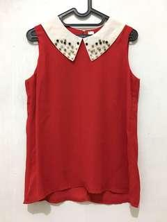 Pearly Red Top