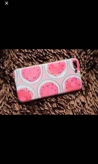 Iphone semangka case pink oversize